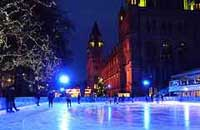 Ice rink natural history museum london