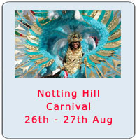 Things To Do In London August 2012 - Notting Hill Carnival