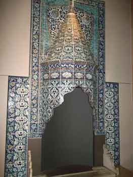 turkish fireplace at the victoria and albert museum