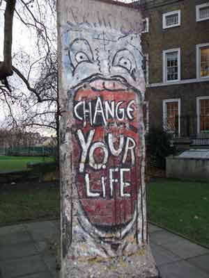 Berlin Wall at the Imperial War Museum