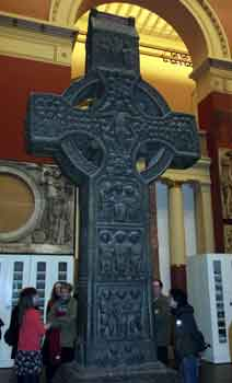 Celtic Cross at the V and A museum