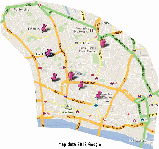 London City Map Free Guide For Visitors - London map guide