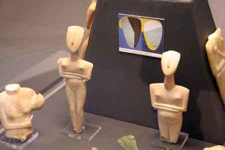 Cycladic Figures at the british Museum