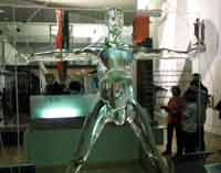 Glass Figure at the Science Museum