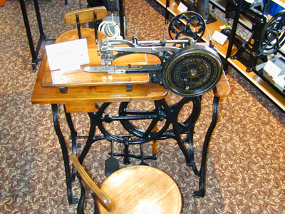 London Sewing Machine Museum Extraordinary Antique Sewing Machine Museum