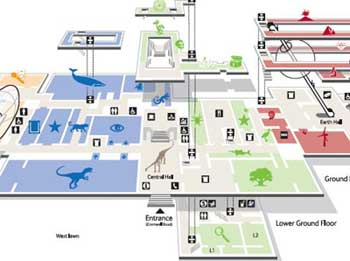 Museum Plan and Maps For The Major London Museums