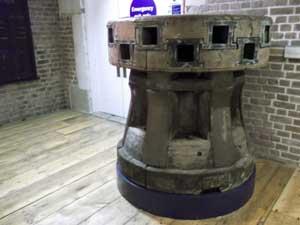 Ships wheel Docklands Museum