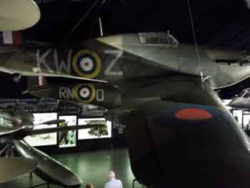 Spitfire at the science museum