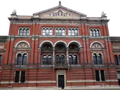 victoria and albert museum original entrance