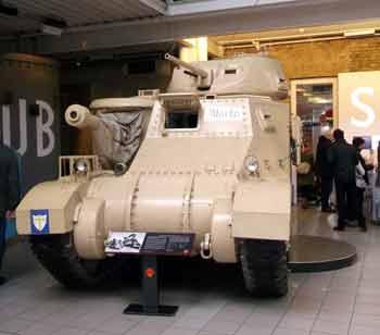 Monty's Tank Imperial War Museum