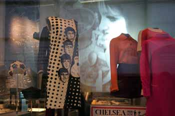 Beatles dress in the museum of london