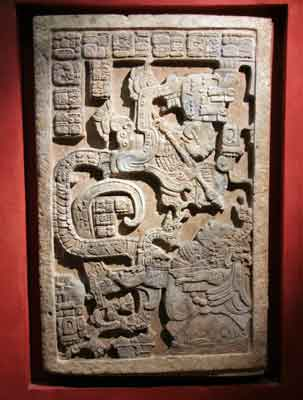 Mexico Plaque at the British Museum