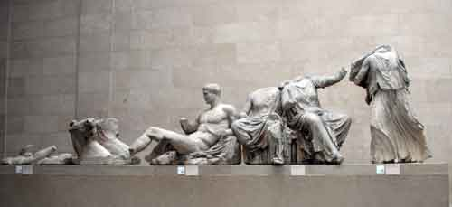 Parthenon Statues at the British Museum