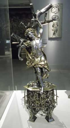 st-sebastian-reliquary at the Victoria and Albert Museum